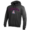 Champion: Arizona Wildcats Arch Logo Hoodie-Charcoal thumbnail
