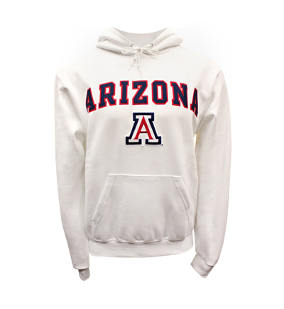 Champion: ARIZONA 'A'White Hoodie