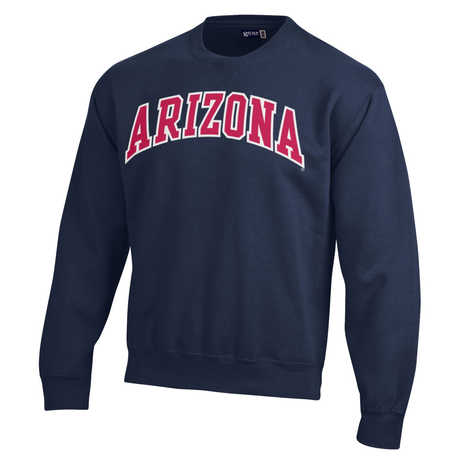 Gear: Arizona Big Cotton Crew-Navy