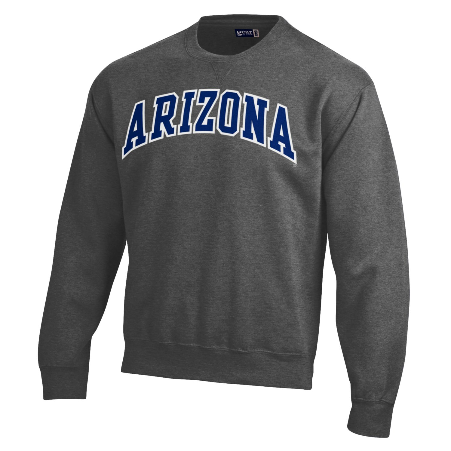Gear: Arizona Big Cotton Crew-Charcoal