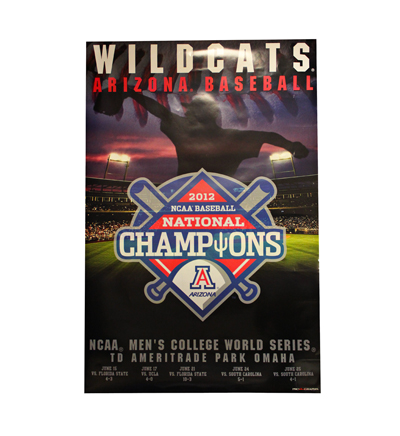 Poster: NCAA 2012 Baseball National Champions