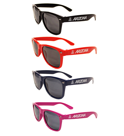 Sunglasses: Assorted 'A' ARIZONA 'A' Wildcats