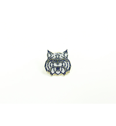 Arizona Lapel Pin-Wildcat Face