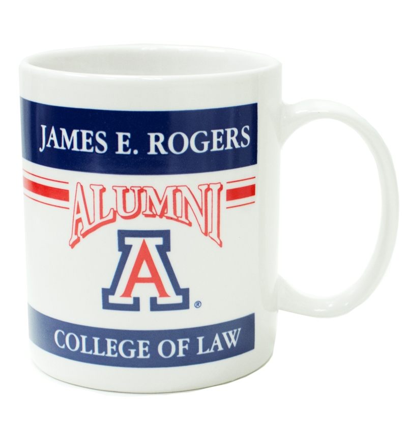 Coffee Mug: College of Law Alumni White