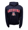 Champion: Arizona Wildcats Arch Logo Hoodie-Navy thumbnail