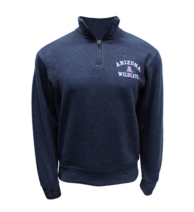 ¼ Zip-Up Navy Arizona 'A' Wildcats JanSport Sweatshirt
