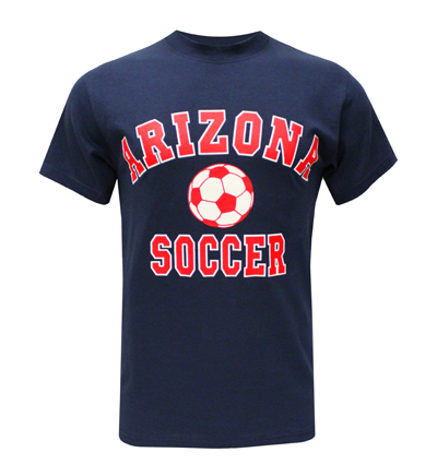 MV Sport: Arch ARIZONA Sports T-ShirtSoccer