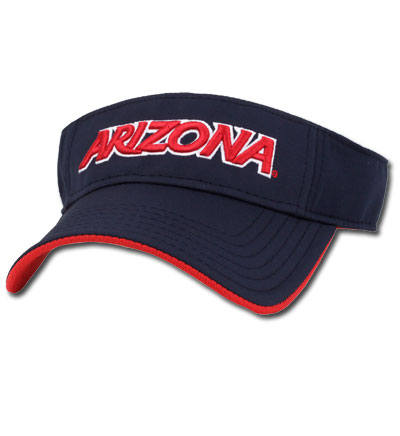 The Game: Arizona / Wildcats Navy Visor