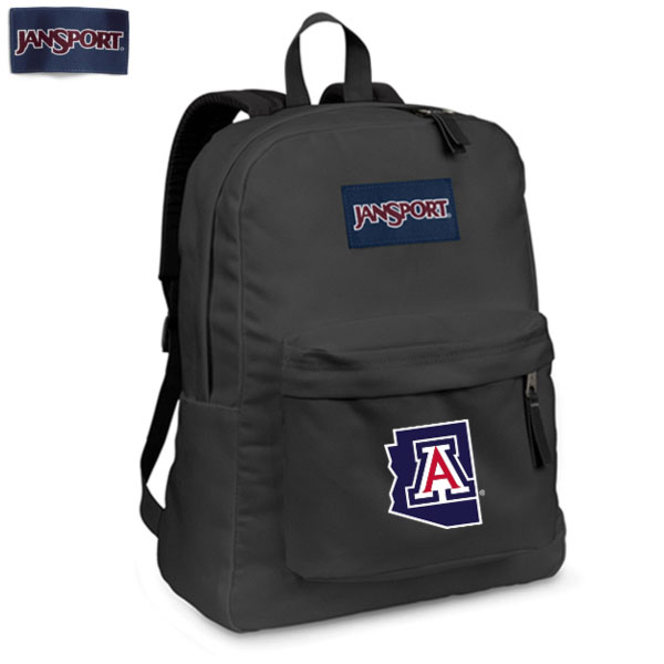 JanSport: 'A' State Outline Gray Backpack