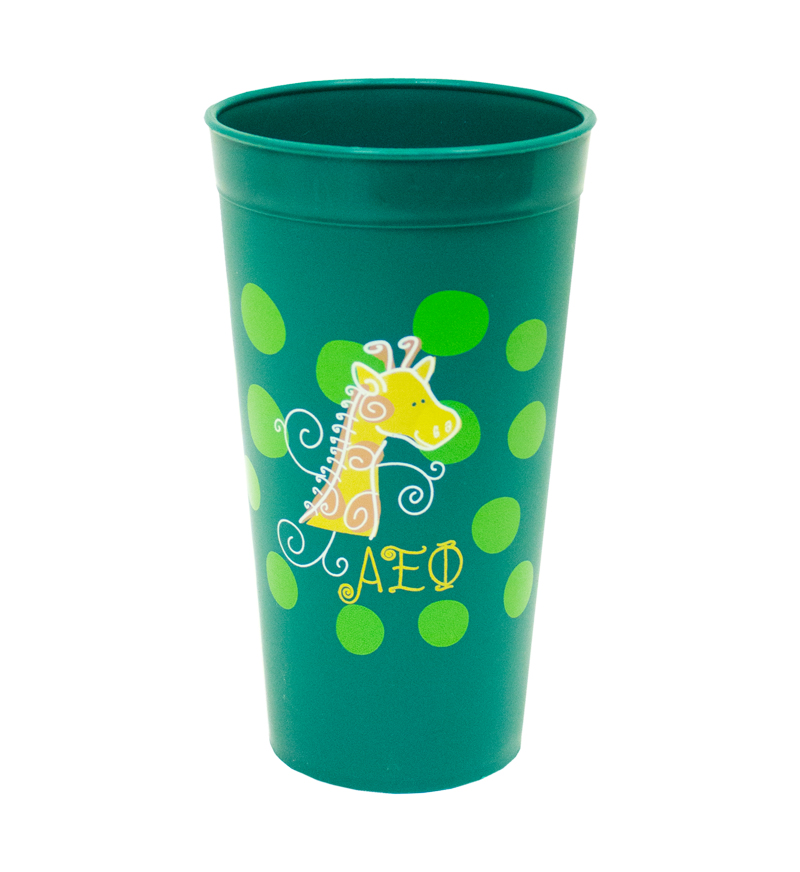 Tumbler Plastic Cups: Greek Life Sororities on Campus