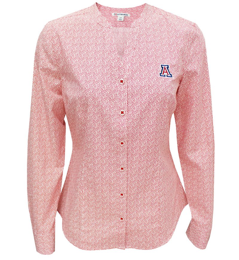 Cutter & Buck: Ladies Long Sleeve Button Down Top