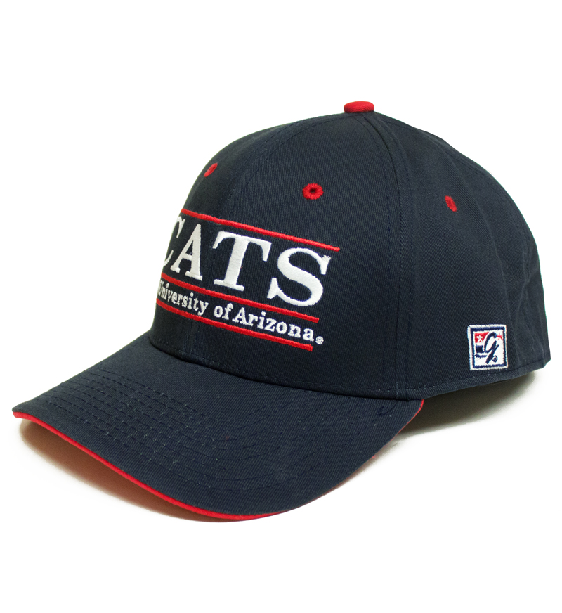 The Game: CATS Univeristy of Arizna Stretch Fit Cap Navy