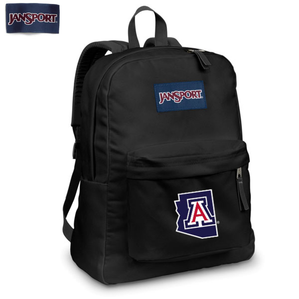 JanSport: Superbreak Backpack Arizona Outline State Black