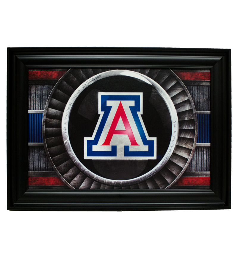 Classic 'A' Logo Turbo Picture Framed 12X18