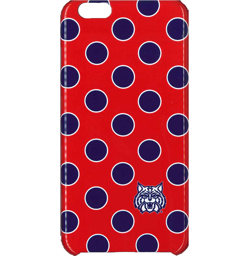 UNCommon: iPhone 6 Plus Wildcat Dots Red Case
