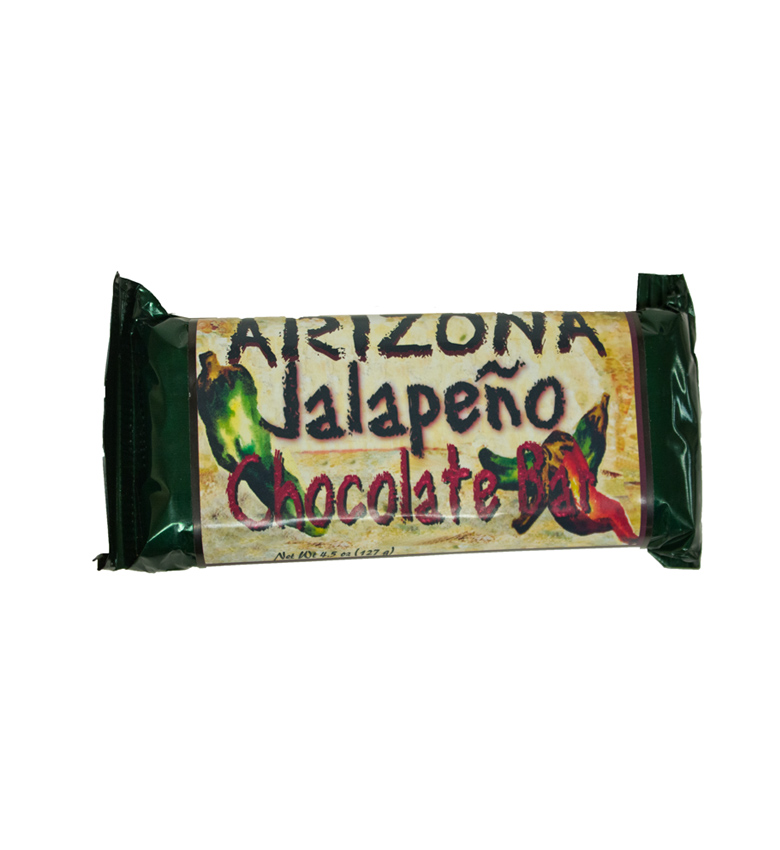 Arizona Jalapeño Chocolate Bar