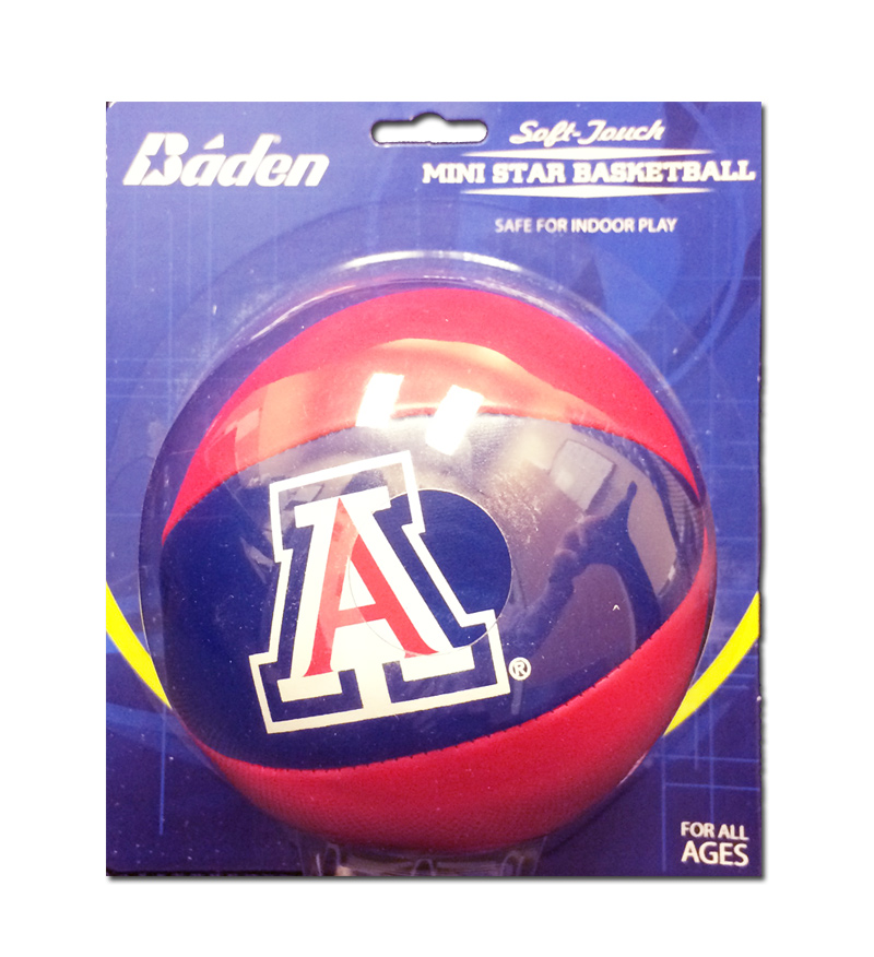 Baden: Arizona Soft-Touch Mini Star Basketball
