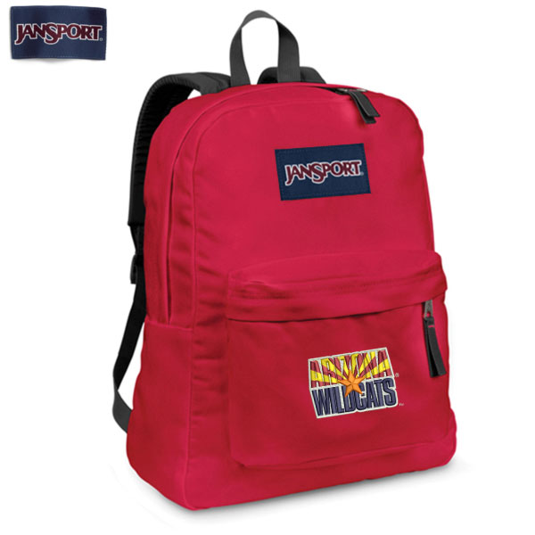 JanSport Superbreak Backpack Arizona State Wildcats Red