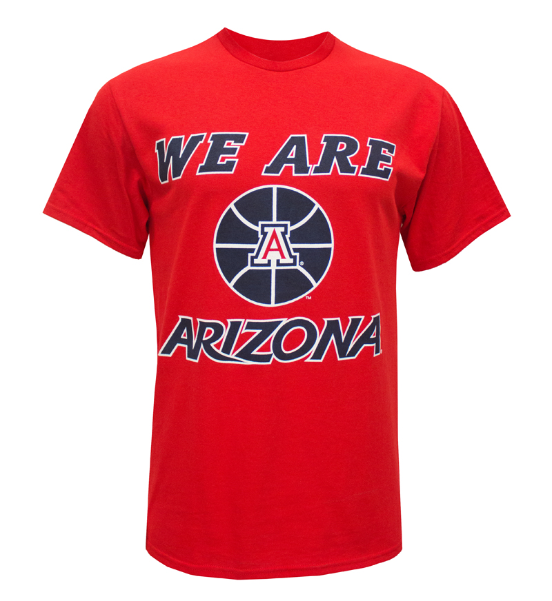 MV Sport: We Are Arizona Basketball Red T-Shirt