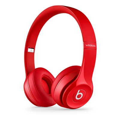 Beats Solo2 Wireless On-Ear Headphones Red