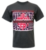 The Game: Wildcats Baseball Charcoal T-Shirt