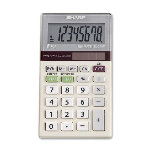 Sharp: EL-244TB Electronic Calculator