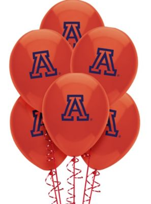 "Party Decor: Arizona 11"" Red Round Latex Ballons 10ct."