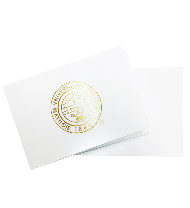 UA Seal Notecards & Envelopes By Jostens