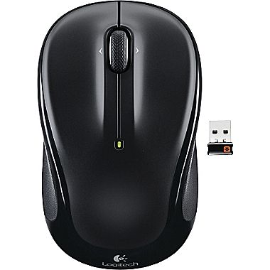 Logitech: Wireless Mouse M325 Black