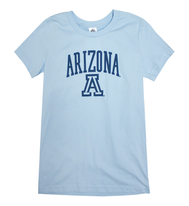 Arch Arizona 'A' Light Blue Women's T-Shirt