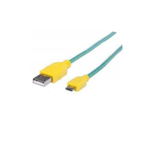 Manhattan 3Ft Braided Micro USB Cable