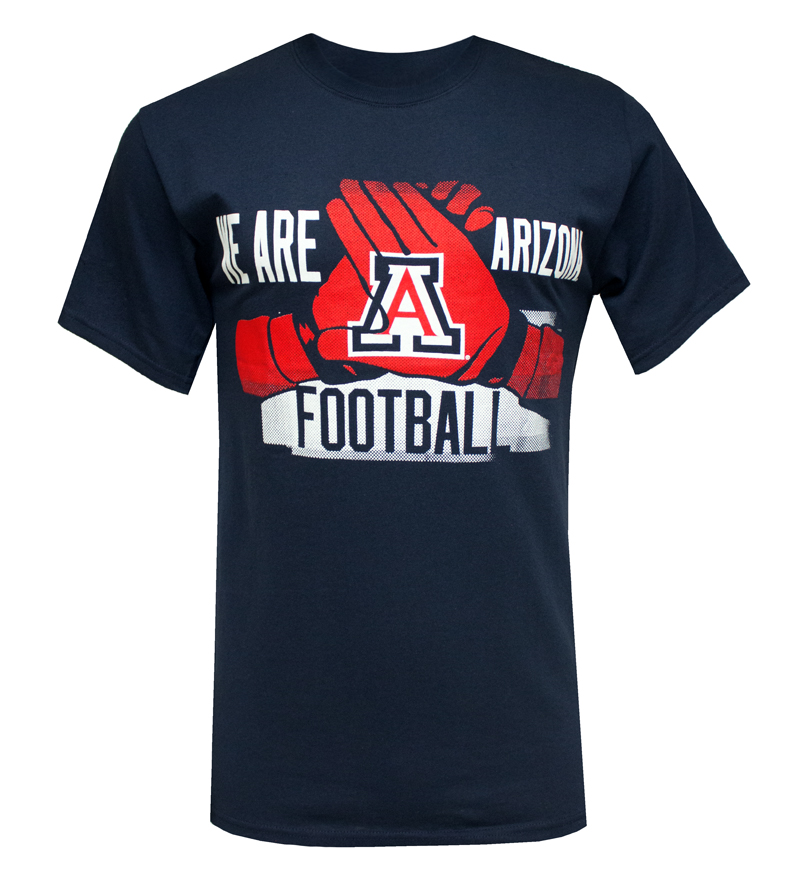 Champion: We Are Arizona Football Gloves T-Shirt