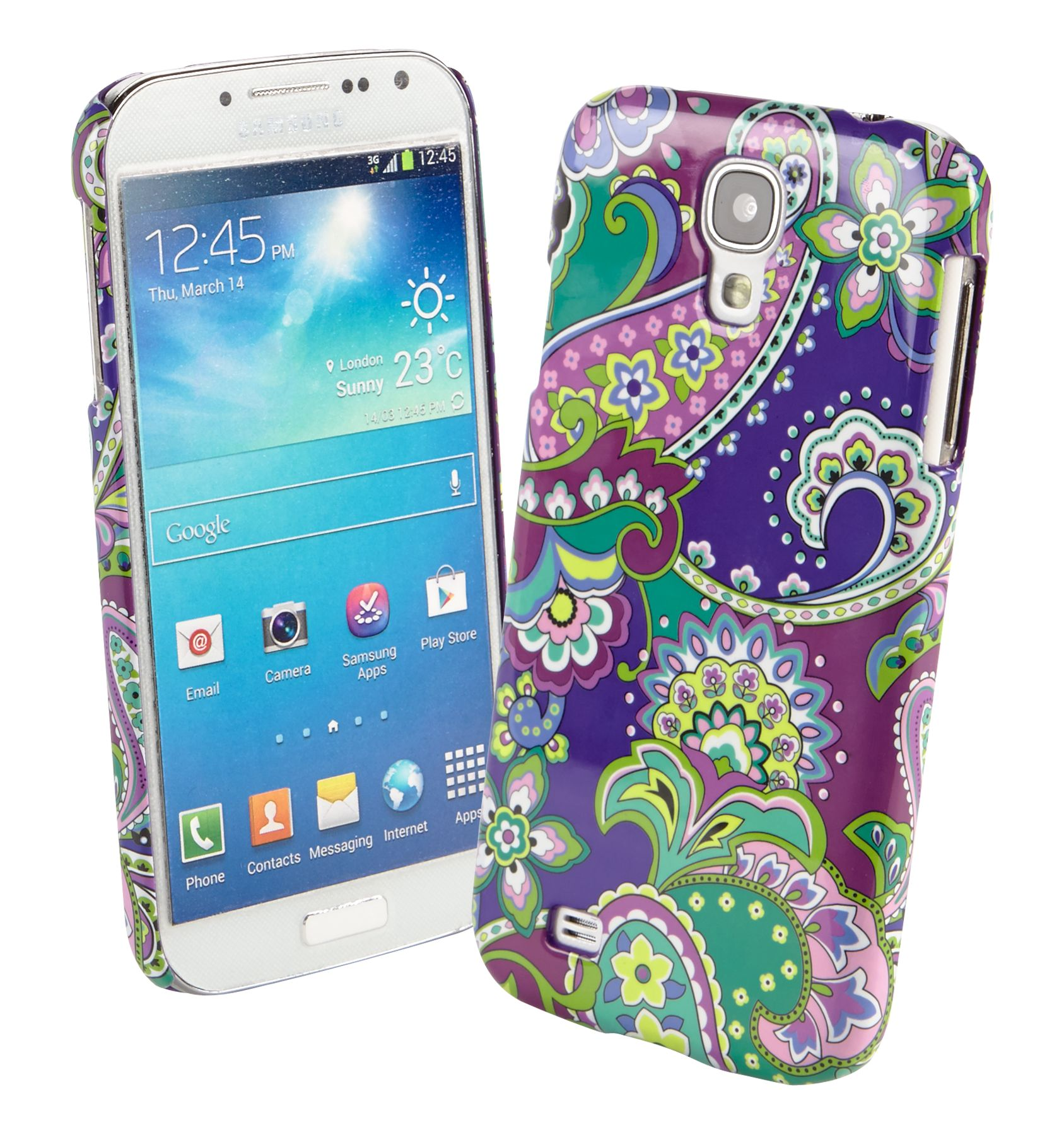 Heather Snap on Case for Samsung Galaxy S4