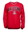 Colosseum: Arizona Red V-Neck Windbreaker thumbnail