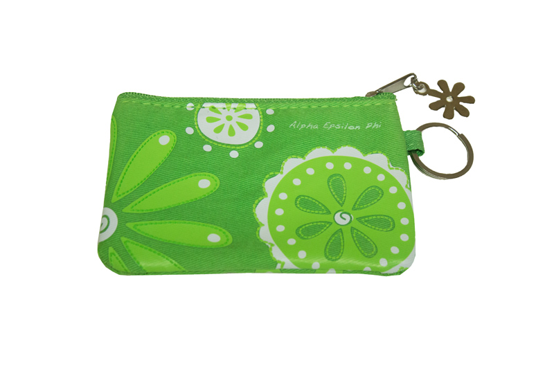 Greek ID Holder and Coin Purse