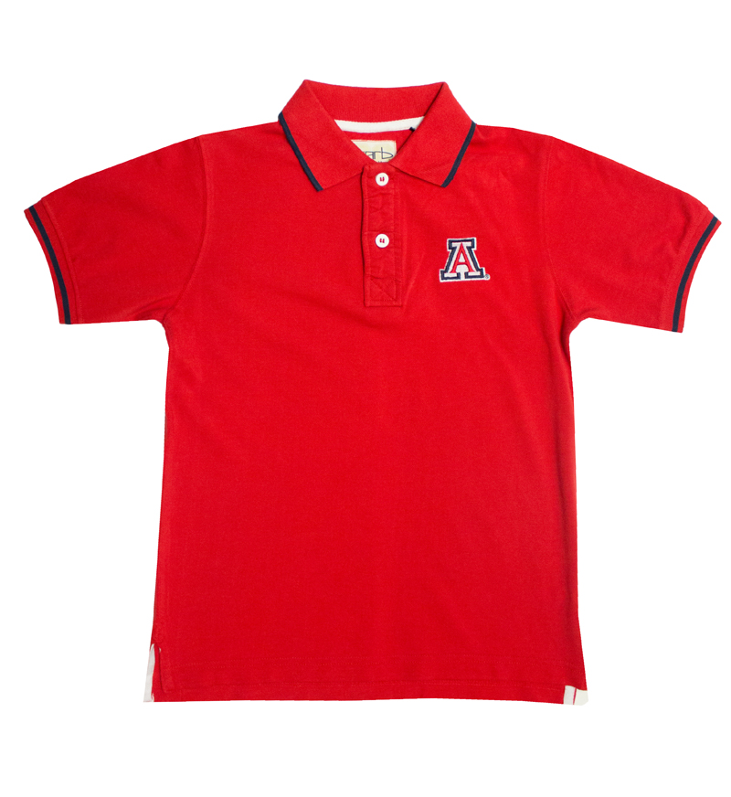 Garb: Youth 'A' Red Polo