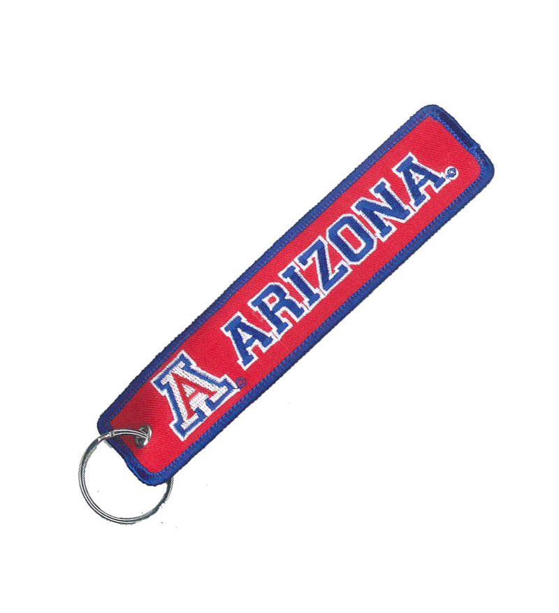 Keytag: Arizona Wildcats Doulbe Sided Airline Tag