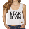 Arizona BEAR DOWN Cropped Tank Top by Retro Brand thumbnail