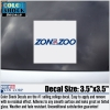 "Decal: Zona Zoo Block 3.5"" X 3.5"" thumbnail"
