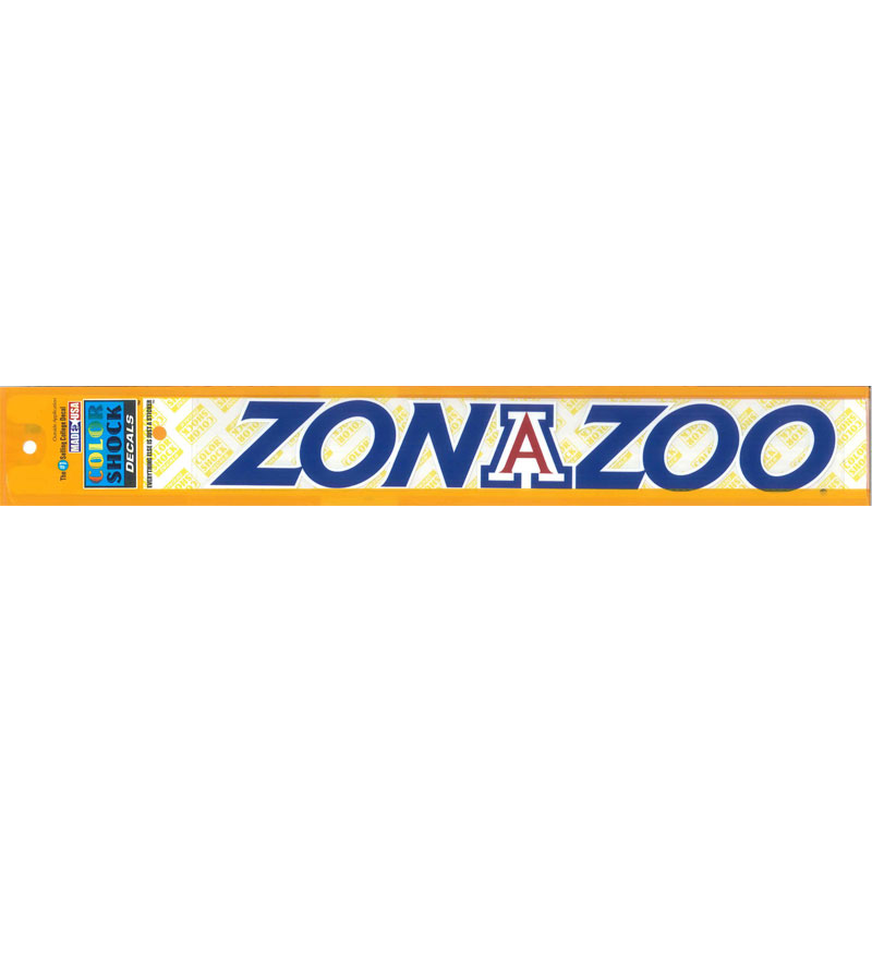 "Decal: Zona Zoo Strip 12"" X 2"""