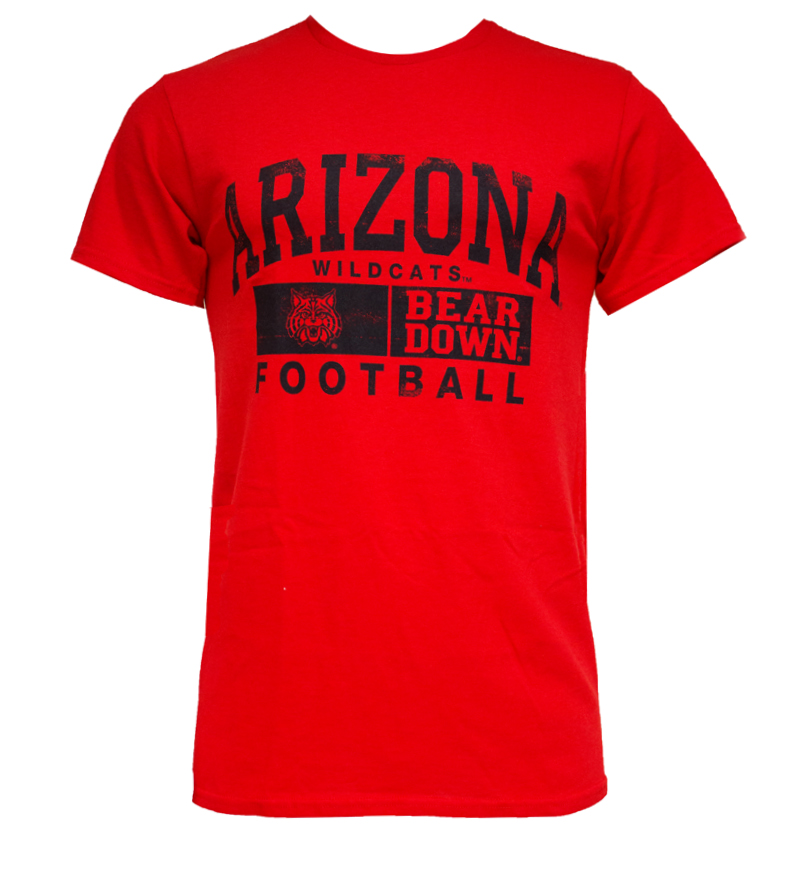 JanSport: Arizona Beardown 'Wildcat' Football T-Shirt