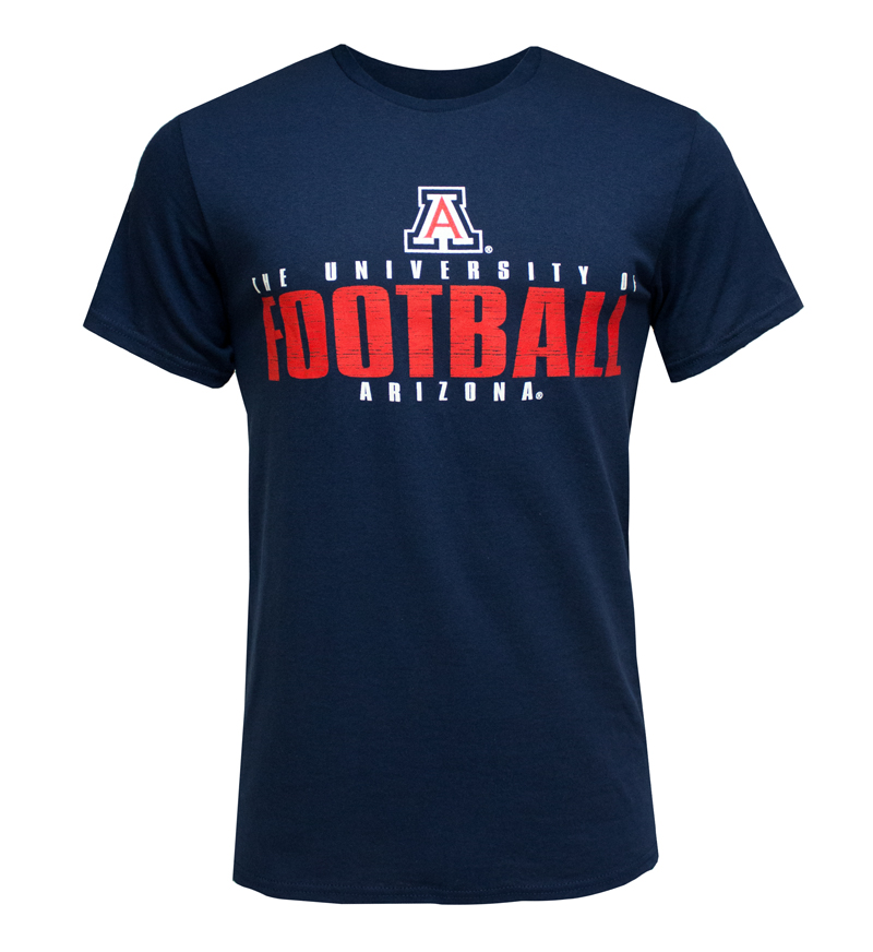 MV Sport: Navy University of Arizona Football T-Shirt