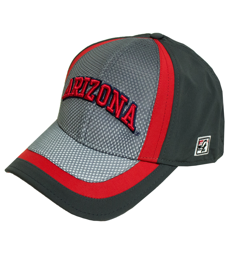 The Game : Arizona Red and Grey FlexFit Cap
