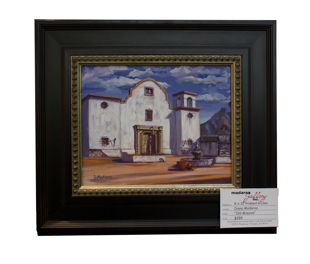 Framed Mini - Old Mission