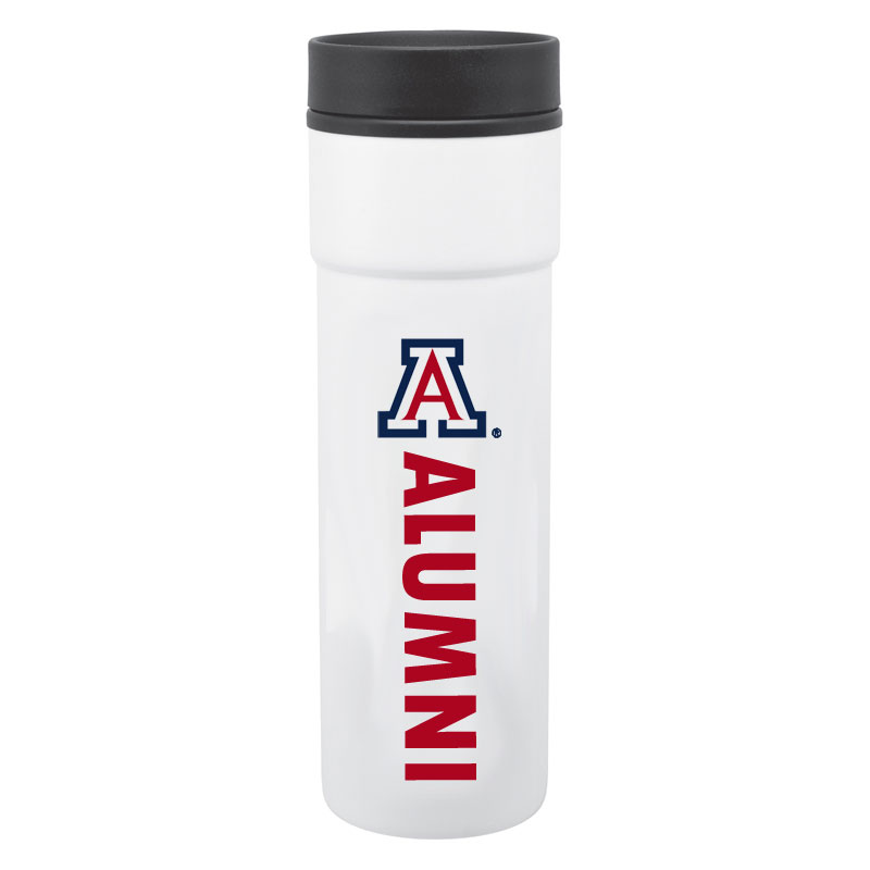 Arizona Alumni White Tumbler