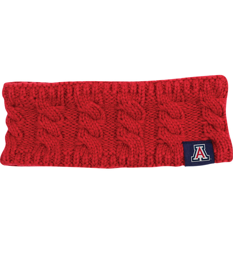 The Game: Arziona Red Woven Earband