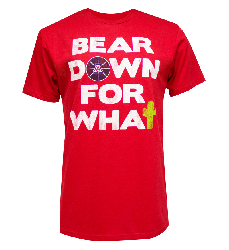 The Victory: Red 'Bear Down For What' T-Shirt