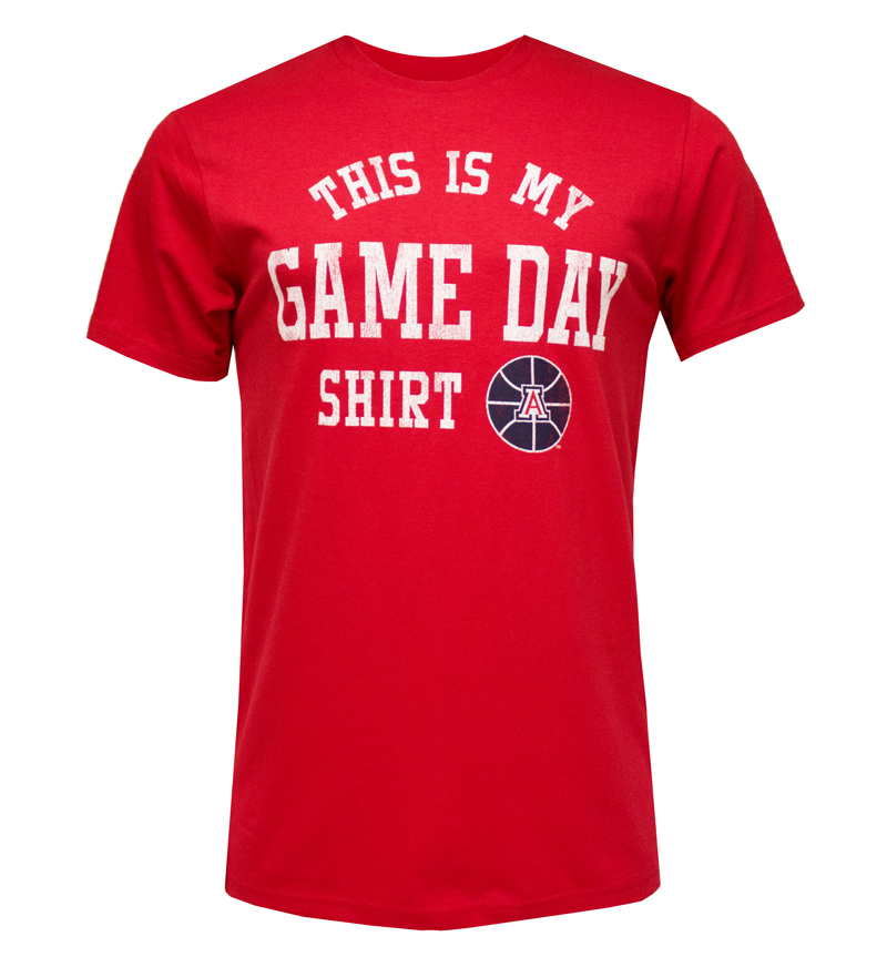 The Victory: Red 'This Is My Game Day' T-Shirt