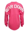 Pink Bear Down Football Jersey Tee thumbnail