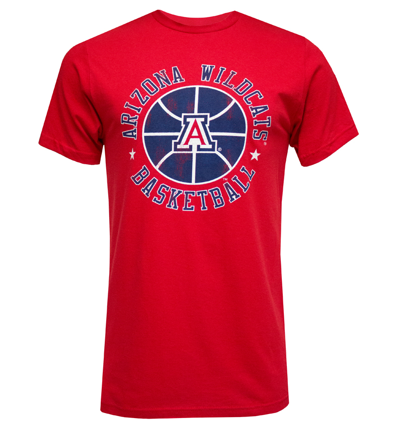 The Victory: Red Arizona Wildcats Basketball T-Shirt